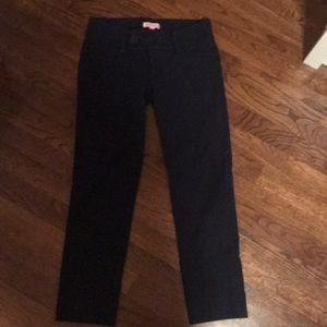Lilly Pulitzer navy cropped pants